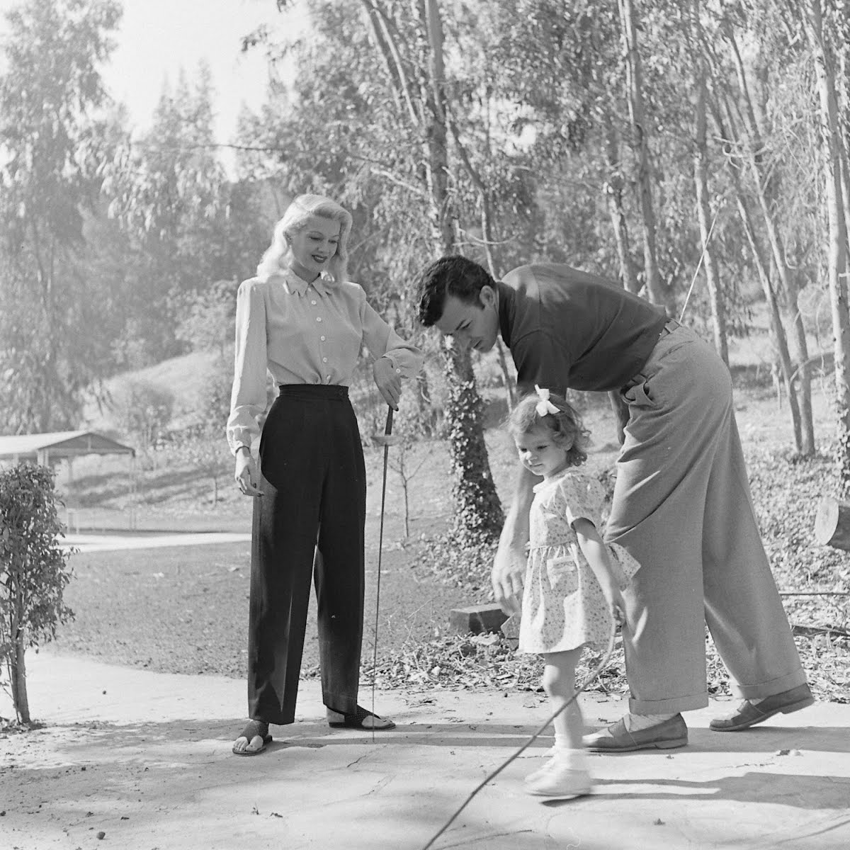 Cornel Wilde And Family