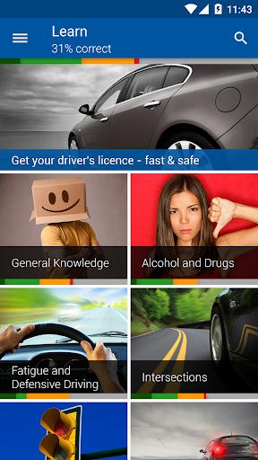 Driver Knowledge Test DKT AU