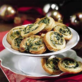 Spinach and Artichokes in Puff Pastry.