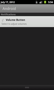 Volume Button - screenshot thumbnail