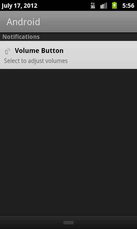 Volume Button - screenshot