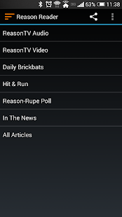 Reason.com Reader- screenshot thumbnail