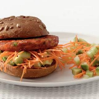 Groenteburger Met Avocadosalsa