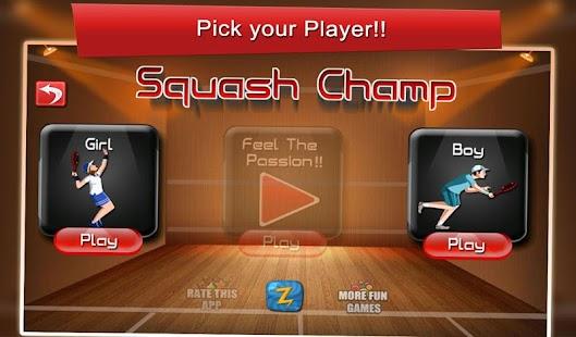 Squash Champ: Sports Challenge- screenshot thumbnail