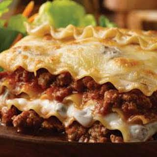Hearty Lasagna.