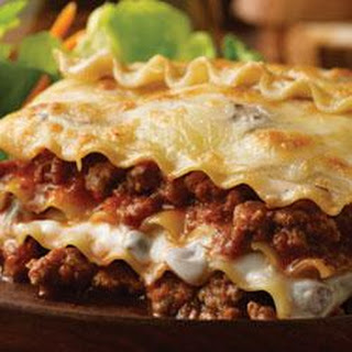 Hearty Lasagna.