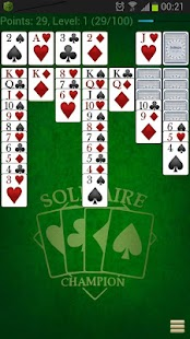 Solitaire Champion HD- screenshot thumbnail