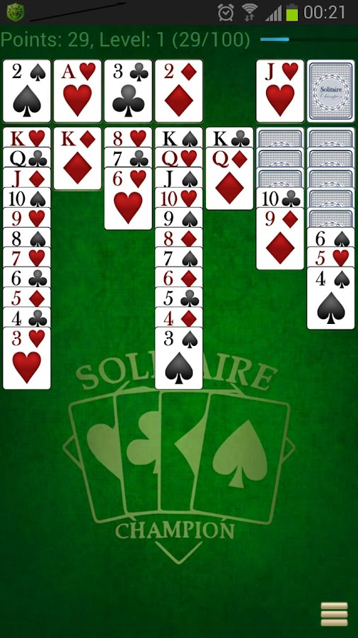 Solitaire Champion HD - screenshot