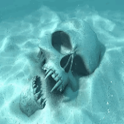 Watery Skull LWP icon