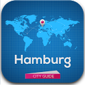 Hamburg Hotels, Map & Guide icon