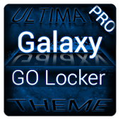 Blue Galaxy GO Locker