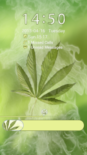 GO Locker Weed Ganja Theme - screenshot thumbnail