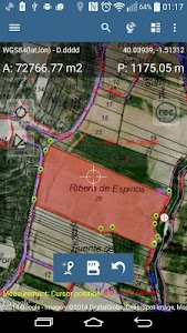 Map Pad GPS Surveys & Measure screenshot 0
