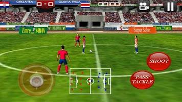 Screenshot of Soccer World 2014