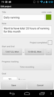 Goal tracker: SmartGoals Pro - screenshot thumbnail