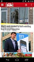 Screenshot of Edmonton SUN+