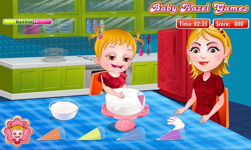 Baby Hazel Learns Colors- screenshot
