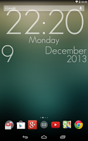 Screenshot of Super Clock Wallpaper Free