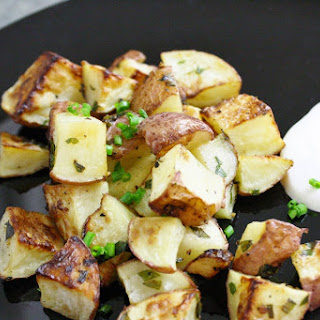 Honey And Herb Roasted Potatoes