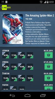 Cine-Box - screenshot