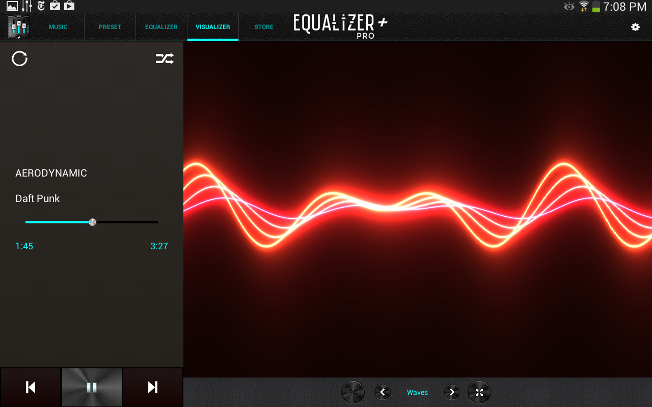 Equalizer Pro Music Player Screenshot