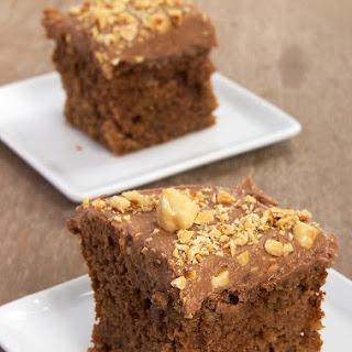 Frosted Chocolate Hazelnut Cake Recipe