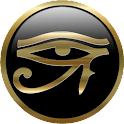 The Eye of Amun-Ra logo