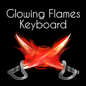 Flame Glow Keyboard