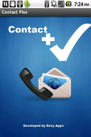 Contact Plus - screenshot