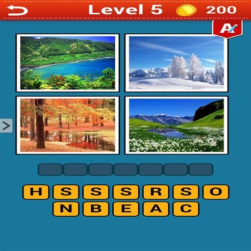4 Pics 1 Word  Pro 解謎 App LOGO-APP試玩