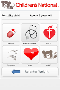 Pediatric Quick Reference screenshot for Android