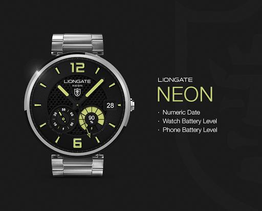 Neon watchface by Liongate