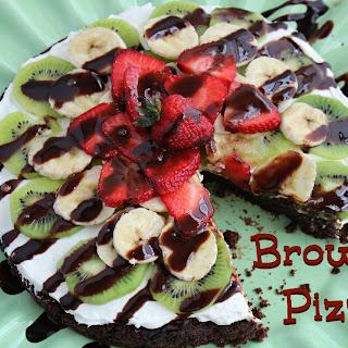 Brownie Pizza (Throwback Thursdays)