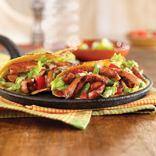 Honey and Spice Sauteed Pork Hand Tacos.