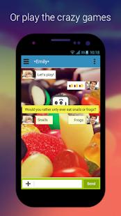 Talk.io - Chat & Meet People- screenshot thumbnail