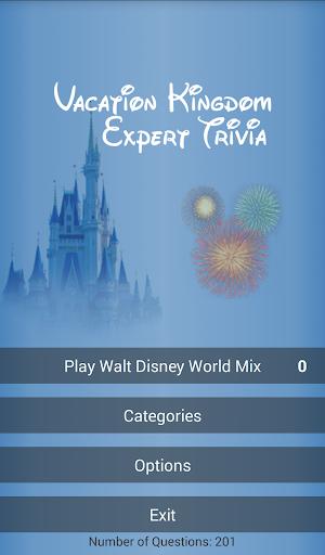 Vacation Kingdom Expert Trivia