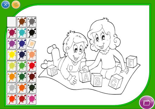 Kid Coloring Game