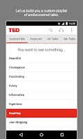 Screenshot of TED