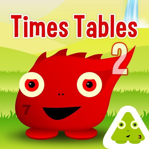 Squeebles Times Tables 2 LOGO-APP點子