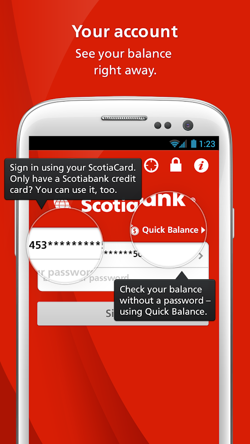 Scotiabank Mobile Banking - screenshot