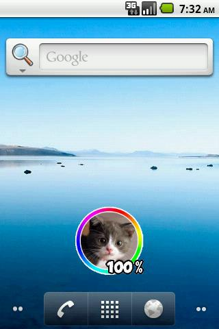 Cat Battery Widget