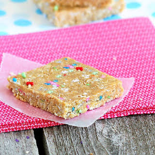 Cake Batter Energy Bars.