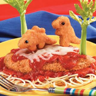 Prehistoric Chicken Parmesan