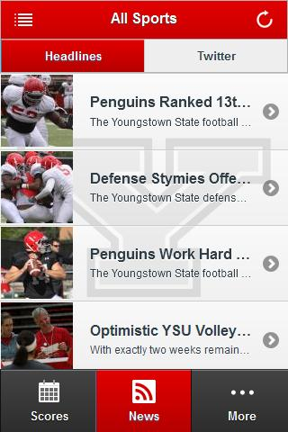 YSU Front Row- screenshot