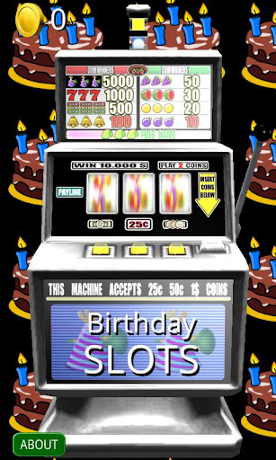 免費紙牌App|3D Birthday Slots - Free|阿達玩APP
