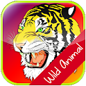 Kids Wild Animal Matching Game icon