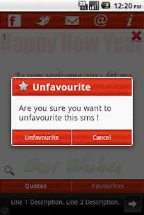 New Year Wishes & SMS(2014) - screenshot thumbnail
