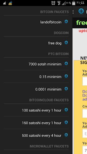 free bitcoin free