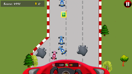 Android Formula Car Game - screenshot thumbnail