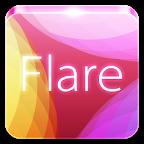 Flare GO Launcher Theme